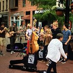 This group played some GREAT music on Pearl Street yesterday (9/1/18)