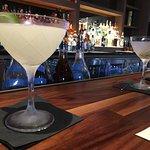 My daiquiri and hubby's martini