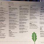 menu....