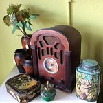 Australiana items including old tins at Quality Junk