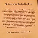 Foto de The Russian Tea Room