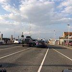 It's a ferry port