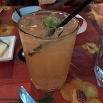 Lovely ginger non-alcoholic drink