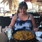 Paella at Bacchus