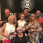 """We had a blast trying to escape from the """"Nashville"""" room."""