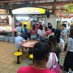 queue for porridge