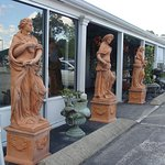 Statues at Sumner Crest.