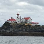 Green Island light house in the Chatham Sound