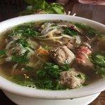Pho dac biet - house special beef noodle soup