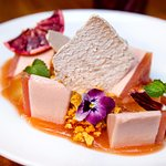 Guava cheesecake - Apple jelly, honeycomb, kalamansi, plum meringue