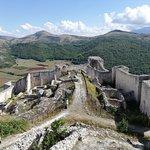 Vista rovine del castello