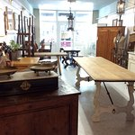 Each antique dealer has a dedicated space that allows their style and taste to stand out