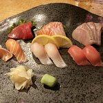 Mixed sushi/ sashimi platter