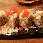 Snapper roll. They were generous with the tobiko. Was this surimi or snapper?