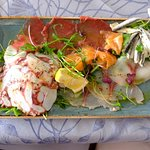 Fish Carpaccio Platter