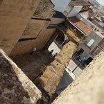 la entrada a La Alcazaba