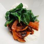 Салат с печёной тыквой