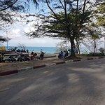 So close to Nai Harn beach