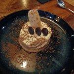 Un des bons desserts de la carte, le tiramisu