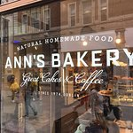 Ann's Bakery Mary Street front window