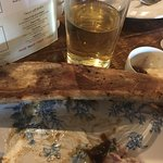 This was the rib bone after I had devoured the beef that was covering it!