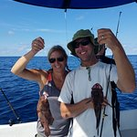 A double hit of Coney Grouper