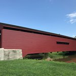 Gilpins Covered Bridge Side view 1