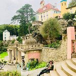 Portmeirion was built by a British Architect Sir Clough - Ellis as a tribute to Portofino & the