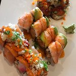 The volcano, sunflower and titanic rolls