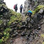 Challenging hike in Hornstrandir