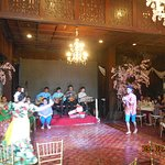 a traditional Muslim wedding dance routine