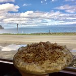 Fresh, Homemade Coconut cream pie