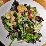 Fish 3 ways salad. So good!!