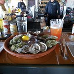 Happy Hour Oysters and Rum Punch