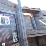 Descriptions of the various places inside the trenches