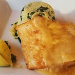Mango Halibut with Couscous.