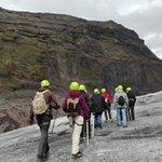 Svinafell Glacier照片