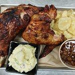 Smoked turkey platter