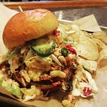 Stadium Pitmaster Sandwich as featured on Travel Channel's Food Paradise