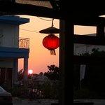 Asian 's  wok sunset