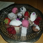 ASSORTED CHEF`S SELECTION OF DESERTS