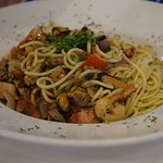 Pasta with seafood !