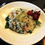 The Risotto with Peas and Long Beans