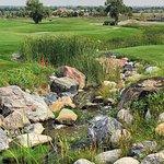 """The """"Falls"""" 9 hole course"""