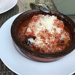 Lasagna with pork ragu. The pasta was perfect and this lasagna wasn't heavy like a lot of lasagn