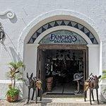 Pancho's Backyard in the Plaza Maya near the pier in Cozumel.