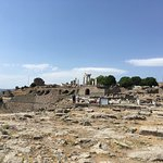 Walking into Pergamon and seeing it all.