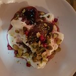 Braised Tamarillo Meringue Dessert