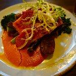 Steelhead dinner dish