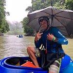 Kayaquero de seguridad. Mr Irving